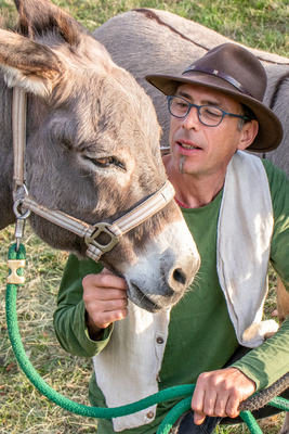 Bild: Esel- & Kräuterrundwanderung in und um den Bad Krozinger Kurpark