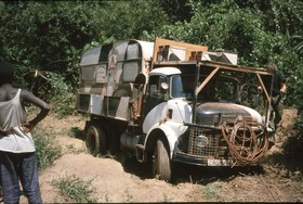 Bild: Walter Költsch: Mit dem LKW durch Afrika - Wiederaufnahme