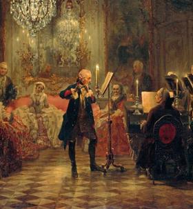 Bild: Quantz-Konzert Scheden - Johann–Joachim–Quantz–Konzert