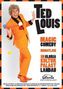 Bild: Ted Louis - Magic Comedy - Hokus Pokus Campingbus