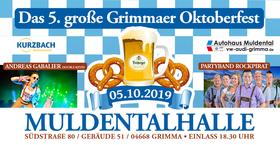 Bild: Das große Grimmaer Oktoberfest 2019