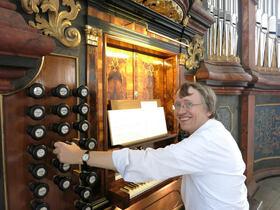 Bild: Wolfgang Zerer (Hamburg), Orgel - 20 Jahre Königorgel – Karl Nagels in memoriam