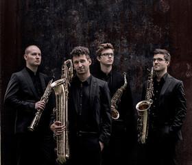 Bild: Gallus-Konzerte 2019/20 des Fördererkreises Musik Main-Taunus e.V. - Gallus-Konzert 1/Xenon Saxophon Quartett