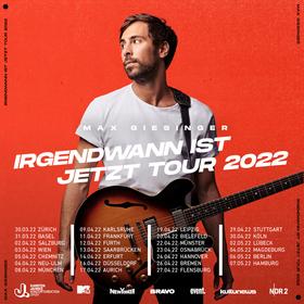 Bild: Max Giesinger - Die Reise Tour 2020
