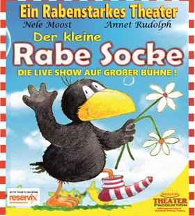 Bild: Sperlichs Märchen-Theater Marbug - Der kleine Rabe Socke