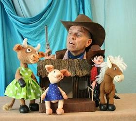 Bild: Cowboy Klaus und das pupsende Pony