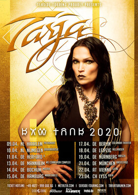 Bild: TARJA - RAW TOUR 2020