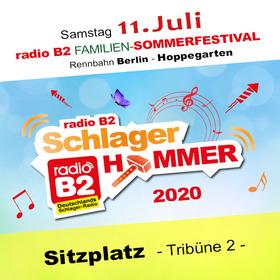 Bild: Kat. 2 - radio B2 SchlagerHammer - Tribüne II (Sitzplatz) 64,90€ + VVK. Geb.