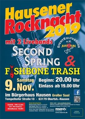 Bild: Hausener Rocknacht - Classic Rock aus 4 Jahrzehnten mit 2 Cover Bands