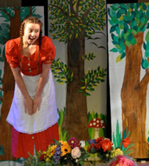 Bild: Rotkäppchen - Kindertheater - öffentl. Generalprobe