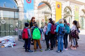 Bild: Schulvermittlung - Geführte Schultour