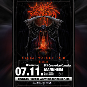 Bild: Cattle Decapitation - Global Warmup Tour 2019