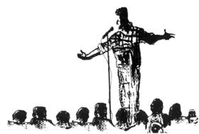 Bild: Poetry Slam im KFZ - Knalldichtung aus dem/für das Publikum