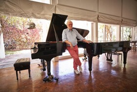 Bild: Klavierabend mit Justus Frantz -