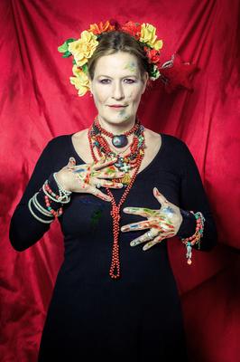Bild: Suzanne von Borsody liest Frida Kahlo - Briefe, Gedichte und Tagebucheintragungen
