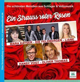 Bild: Ein Strauss roter Rosen - Die schönsten Melodien aus Schlager & Volksmusik