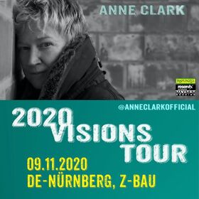Bild: Anne Clark - 2020 Visions Tour - AUSVERKAUFT