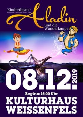 Bild: Aladin und die Wunderlampe - Kindertheaterstück - präsentiert vom