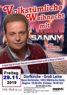 Bild: Weihnachtskonzert mit Sanny