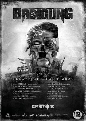 BRDIGUNG Zeig Dich Tour 2020 - + special guest: Grenzen|Los