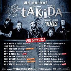 tAKiDA - What About Tour? 2021