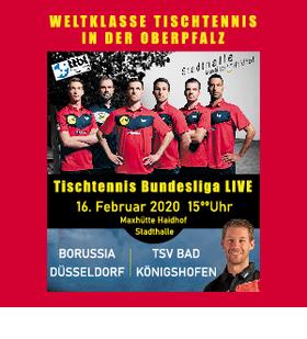 Bild: Borussia Düsseldorf - TSV Bad Königshofen