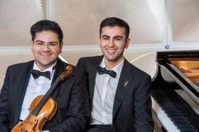 Bild: Konzert mit David und Marlen Malaev