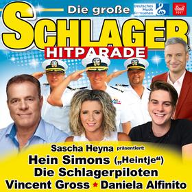 Bild: Die große Schlager Hitparade 20/21 - mit Hein Simons (Heintje), Die Schlagerpiloten, Vincent Gross und Daniela Alfinito