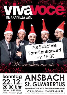Bild: Das VIVA VOCE Familienkonzert - A cappella für Klein und Groß