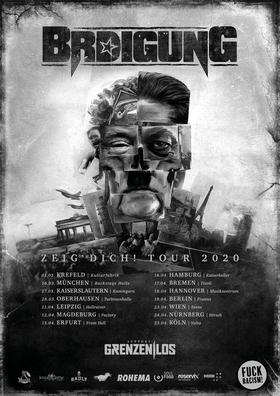 BRDIGUNG + Support Grenzen|Los - Zeig Dich Tour 2020