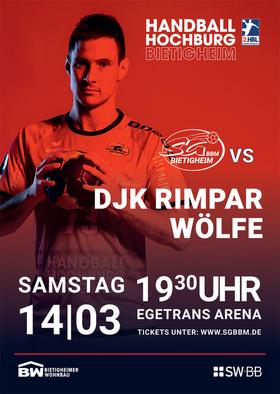 SG BBM Bietigheim vs. DjK Rimpar Wölfe
