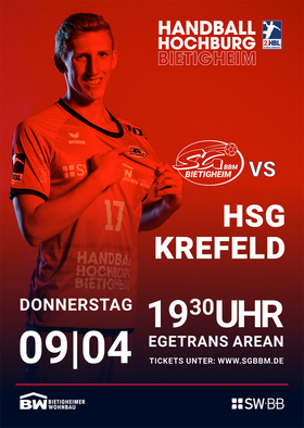 SG BBM Bietigheim vs. HSG Krefeld