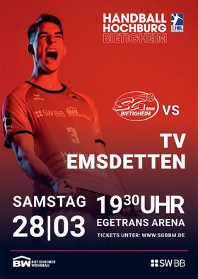 SG BBM Bietigheim vs. TV Emsdetten
