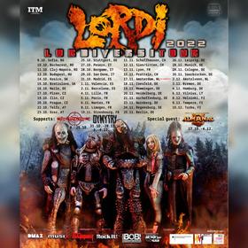 Bild: Lordi - Tour 2022
