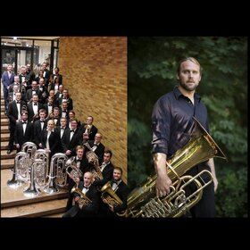 Bild: Brass & Cabaret mit Andreas Martin Hofmeier - und der Brassband Oberschwaben Allgäu