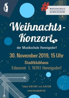 Bild: Weihnachtskonzert der Musikschule Hennigsdorf