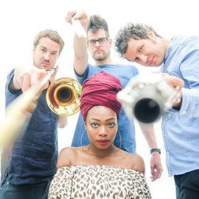 Bild: Three Fall feat. Melane - 26. Jazztage Dortmund