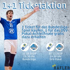 Bild: 1+1 Ticketaktion