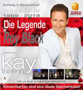 Bild: Die Legende Roy Black - Ich denk an Dich Tour 2019 mit Kay Dörfel