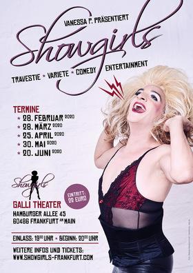 """Bild: """"showgirls Frankfurt"""" by Vanessa P. - Gastspiel im Galli Theater Frankfurt"""