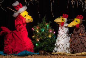 """Bild: """"Morgen kommt der Weihnachtshahn..."""""""