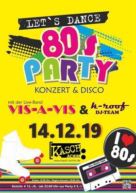 Bild: 80´s Party - Let´s dance