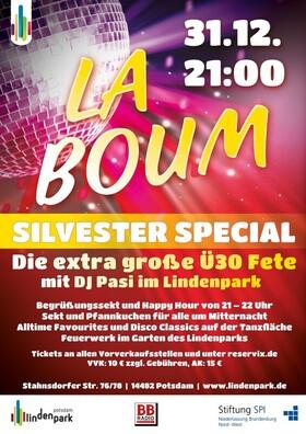 Bild: La Boum Silvester Special - La Boum Silvester Special-Die extra große Ü30 Fete mit DJ Pasi