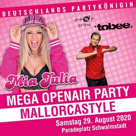 Mia Julia Mega Openair Party - Mallorcastyle