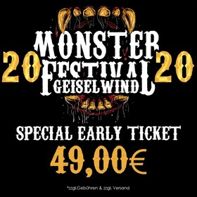 Bild: MONSTER FESTIVAL 2020 - Special EARLY Ticket