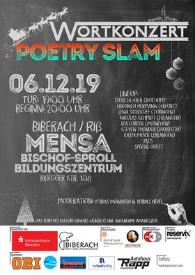 Bild: Wortkonzert No21 - Der Poetry Slam in Biberach