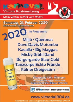 Bild: Viktoria-Karnevalssitzung 2020