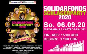 Bild: Solidarfonds Schlagerparty 2021 - Der Hitmarathon am Mittwoch vor Himmelfahrt 2021
