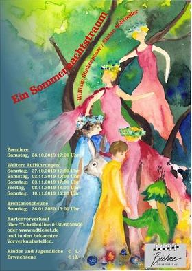 Bild: Ein Sommernachtstraum nach W. Shakespeare - Premiere