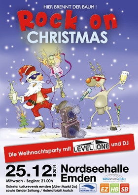 Bild: Rock on Christmas - Die Weihnachtsparty mit Level One + DJ Erik (Madison/Dinis)